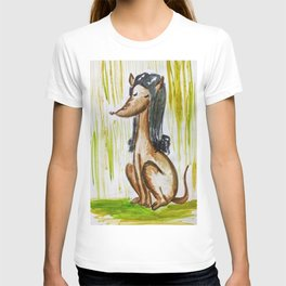 Perro mujer T-shirt