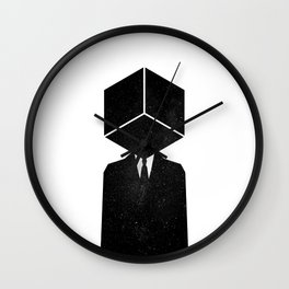 The son of cube Wall Clock