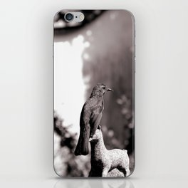 Stay still iPhone Skin