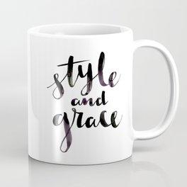 Style and Grace Coffee Mug