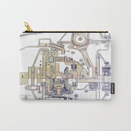Mechanical Diagram Carry-All Pouch