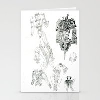 supreme Stationery Cards featuring Bodice supreme by Mumu1985