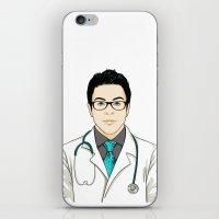 doctor iPhone & iPod Skins featuring Doctor by BusOne - Aldo Campilongo