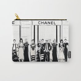 Karl Lagerfeld at Paris Fashion Week Carry-All Pouch