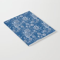 Denim and Roses Notebook