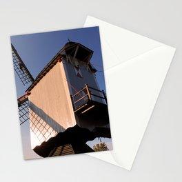 1745 Windmill sundown Stationery Cards