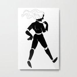 slicey dicey  Metal Print