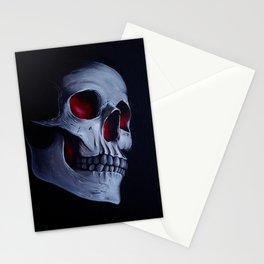 Acrylic Skull Stationery Cards