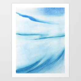 Winter in Soft Pastel Art Print