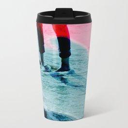 A girl and the sea Travel Mug