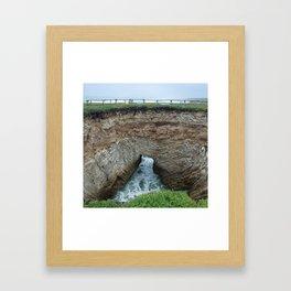 Seaside II Framed Art Print