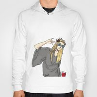 randy c Hoodies featuring Randy Thrandy Party King by anxietyprince