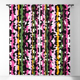 Mardi Gras Confetti Blackout Curtain