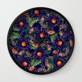 CHAMOMILE FOREST Wall Clock