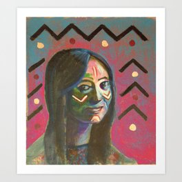 Sioux 2wo Art Print