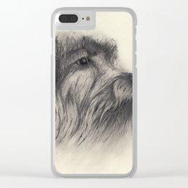 Shelter Dog I Clear iPhone Case