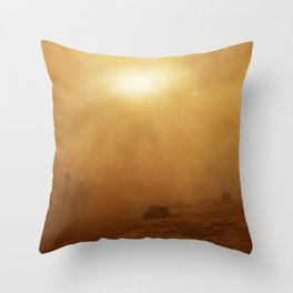The Lost Panther Throw Pillow