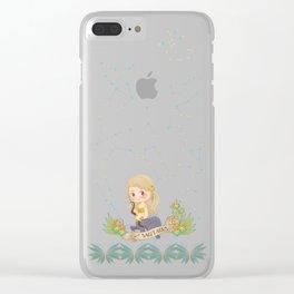 SAGITARIUS my cute horoscope Clear iPhone Case