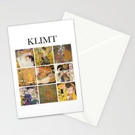 Klimt - Collage Stationery Cards