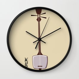 Kubo and the Two Strings - Shamisen Wall Clock