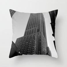 New York Building-2 Throw Pillow