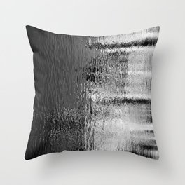 Blurred Water Throw Pillow
