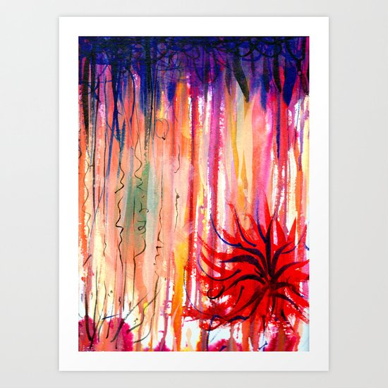 manalone Art Print