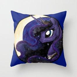 Night's Princess Throw Pillow