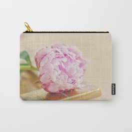 PEONY WITH GOLD Carry-All Pouch