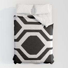 BLACK AND WHITE GEOMETRIC 2020 Comforters