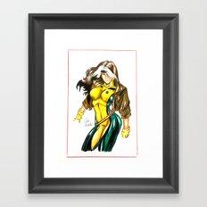 Rogue X-men Framed Art Print