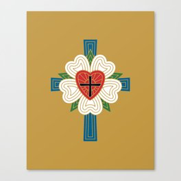 Luther's Rose Canvas Print