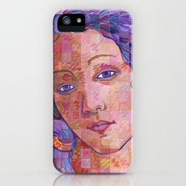 Variations On Botticelli's Venus – No. 2 iPhone Case