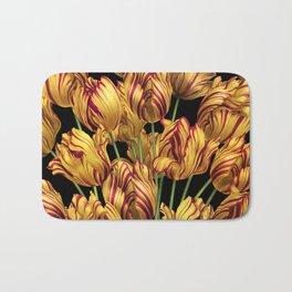 Royal Sovereign Tulips bouquet. Bath Mat