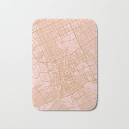 Riyadh map, Saudi Arabia Bath Mat