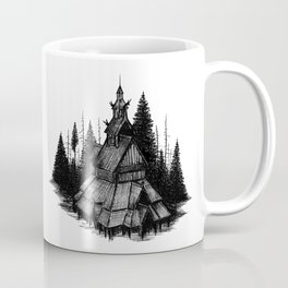 Fantoft Stave Church Coffee Mug