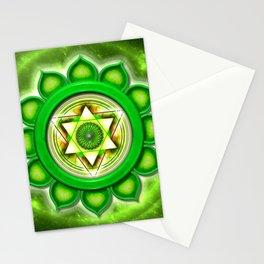 "Anahata Chakra Series ""Open Chakra"" Stationery Cards"