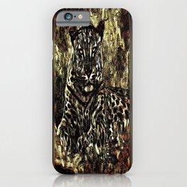 Big Cat Models: Leopard Laze 01-03 iPhone Case