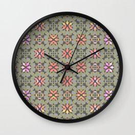 pattern. kiev Wall Clock