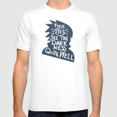Will of Team 7 [Blue] Mens Fitted Tee White SMALL