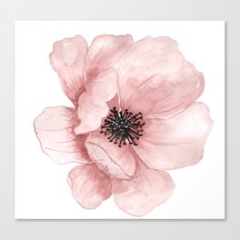 Flower 21 Art Canvas Print