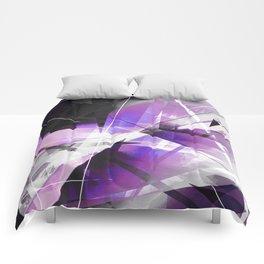 Breakwave - Geometric Abstract Art Comforters