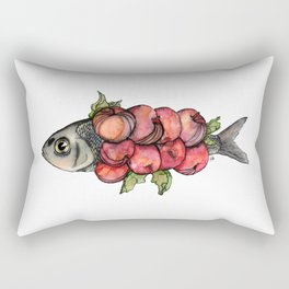 Fruit Fish Rectangular Pillow