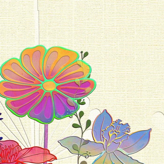 Flower Tales 4 Leggings