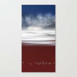 Tricolor - Skyscapes and horizons Canvas Print