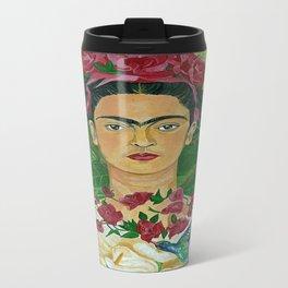 Frida In Heaven Metal Travel Mug