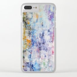 Abstract 158 Clear iPhone Case