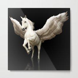 Majestic Pegasus Metal Print