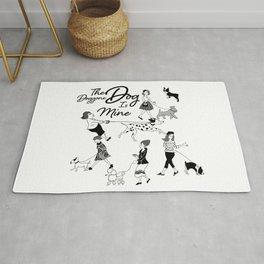 The Doggone Dog Is Mine_Girls Rug