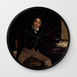 Jules Bastien-Lepage - Sir Henry Irving Wall Clock